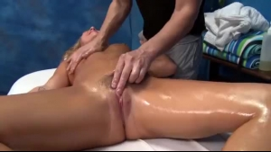 Blake Eden is getting fucked during a massage therapy, by a kinky therapist